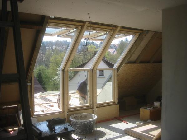 Dachfenstereinbau für Dachterasse