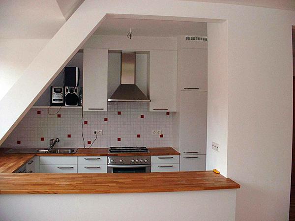 Küchen in ausgebauter Dachwohnung