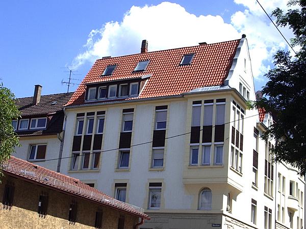 Dach vor dem Ausbau