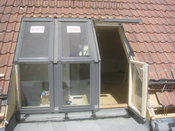 Tür zur Dachterasse