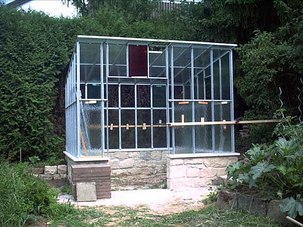 Gartenhaus - Vorderansicht