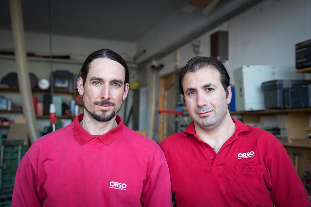 Hans Peter Schulz und Milan Lasic
